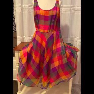 Sara Campbell party dress